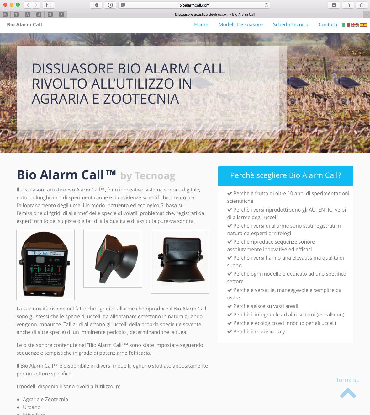 Bio Alarm Call