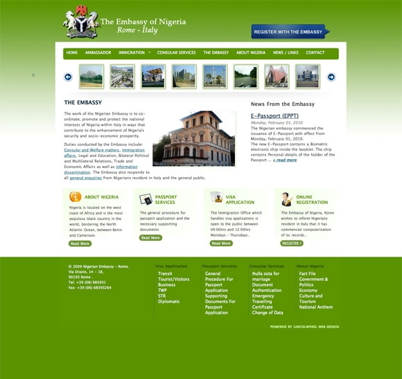 Nigerian Embassy - Rome
