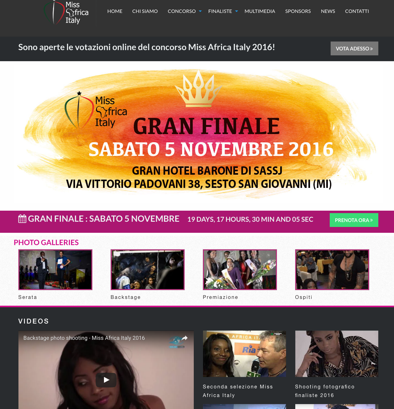Miss Africa Italy